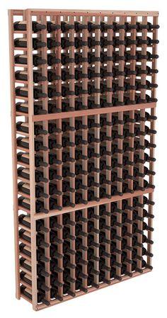 Handmade Wooden 10 Column 180 Bottle Standard Wine Cellar Kit in Premium Redwood. 13 Stain Combinations to Choose From! Tapas Bar, Table En Pin, Wine Racks America, Wine Cellar Racks, Barolo Wine, Wine Cellar Design, Rack Design, In Vino Veritas, Wine Racks