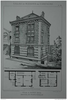 Villa à Pantin, Architecte Frantz-Jourdain