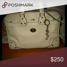 Coach Chalk Rhyder 32 New without tags. No marks or anything on it. Long strap included Coach Bags Satchels