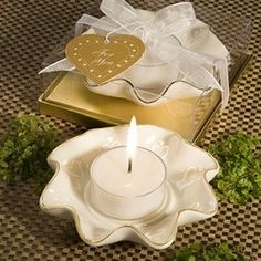 Porcelain Heart Theme Tea Light Holder | review | Kaboodle