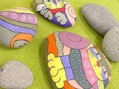 rocas pintadas al oleo - Buscar con Google