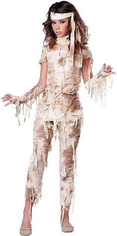 California Costumes Mysterious Mummy Tween Costume XLarge ** Be sure to check out this awesome product. Tween Halloween Costumes, Couple Halloween, Girl Costumes, Diy Halloween, Costume Ideas, Halloween City, Halloween Office, Halloween Nails, Mummy Costumes