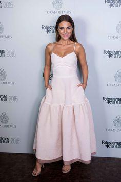 Paula Echevarría, con look de The 2nd Skin & Co.