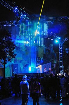 ElecTRONica Street Festival  California Adventure  Flickr - Photo Sharing