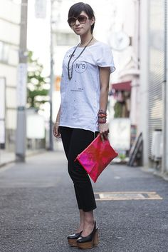 【スライドショー】アジアの街角ファッションスナップ―東京、ソウルなど - WSJ.com