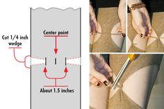 how to make the self-garter tights seen in Resident Evil 3... go sockdreams.com!