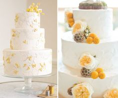 love the cake on the left, not sure about the right