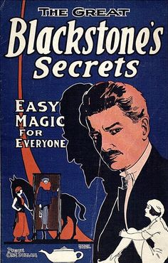 Vintage advertising poster | magicians