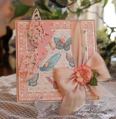 Spellbinders Fairies Card