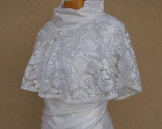 Wedding Capelet Bridal Cape Bridal Cover Up Wedding Cover | Etsy