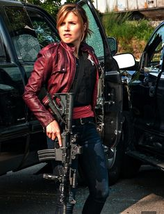 Sophia Bush as Erin Lindsay - Chicago P. Chicago Med, Nbc Chicago Pd, Chicago Fire, Detective Outfit, Police Detective, Erin Lindsay Chicago Pd, Sophia Bush Chicago Pd, Sophie Bush, Chicago Justice