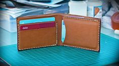 How to Make a Basic Leather Wallet (New)