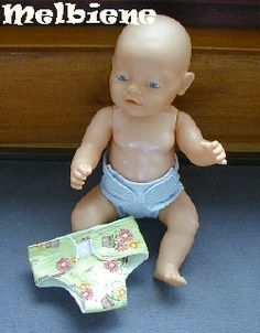 Baby Born After spending tons of money on these baby born nappies, there& no . Sewing For Kids, Baby Sewing, Diy For Kids, Baby Doll Clothes, Baby Dolls, Girl Dolls, Baby Born Kleidung, Doll Wardrobe, Baby Blog