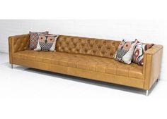 Hollywood Leather Sofa