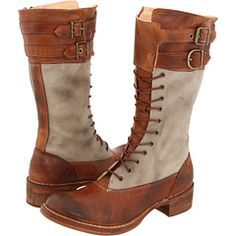 lucille boot, only taller and zips up the side.