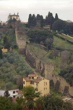 City Walls, Florence, Italy