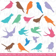 Vogel-Silhouetten Clip Art Clipart Vogel Clip Art von PinkPueblo Best Picture For Birds black and white For Your Taste You are looking for something, and it is going to tell you exactly what you are l Art Clipart, Image Clipart, Vogel Silhouette, Bird Silhouette Art, Silhouette Painting, Silhouette Photoshop, Photoshop Brushes, Vogel Clipart, Bird Tattoos