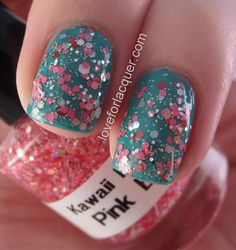 LOVE FOR LACQUER: Kawaii Nail Lacquer Pink Blizzard