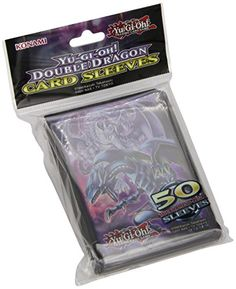 1 X Yu-Gi-Oh! - Double Dragon Card Sleeves - 50 Sleeves -- More details @