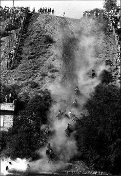 1980 Rodeos Omak Stampede and Suicide Race - crazy people on horseback