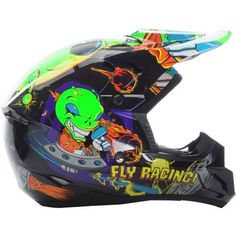 Fly Racing Kinetic Invasion Youth Off Road Dirt Bike Motocross Helmets Off Road Dirt Bikes, Motocross Helmets, Motosport, Kids Gifts, Youth, Racing, Tattoo, Search, Auto Racing