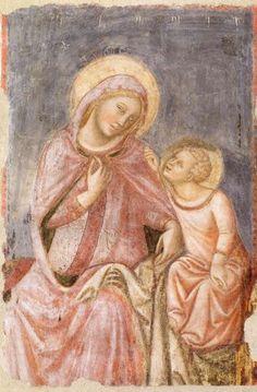 Vitale da Bologna - Madonna del ricamo, CollCarisbo