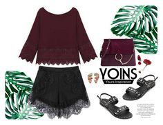 """""""Yoins"""" by gabyidc ❤ liked on Polyvore featuring Chloé, Magdalena, NARS Cosmetics, BROOKE GREGSON, yoins, yoinscollection and loveyoins"""