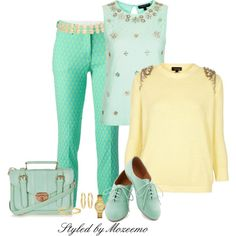polyvore+dress+pants+images | fashion look from April 2014 featuring Topshop sweaters, Topshop ...