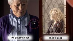 fun fact Annette Crosbie (Eleventh Hour) was in Hope Springs series with Alex Kingston