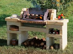 Charmant A Voir : Modele Barbecue Exterieur Nice Look