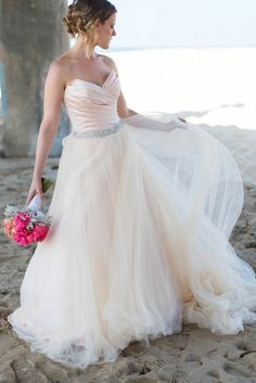 Beach Chic Wedding Anniversary from Nicole Alexandra Designs. To see more: http://www.modwedding.com/2014/09/08/beach-chic-wedding-anniversary-nicole-alexandra-designs/ #wedding #weddings #wedding_dress