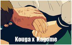 Kagome and Koga - kagome-higurashi Photo