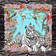 White Tiger scarf pattern  Final adjustment, black  Reactive ink printing   Handwoven c92cda926f0