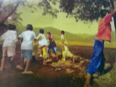 Traditional Games, Golf Courses, Painting, Painting Art, Paintings, Painted Canvas, Drawings