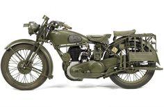 1944 Norton Model 16H Military