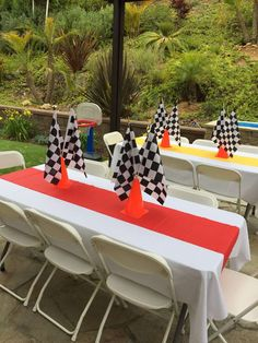 Kingston's 3rd Race Car Party | CatchMyParty.com