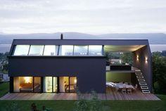 Renato Salvi Architects Bastardoz House in Switzerland