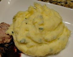 Mashed Potatoes With Creme Fraiche And Chives Recipe