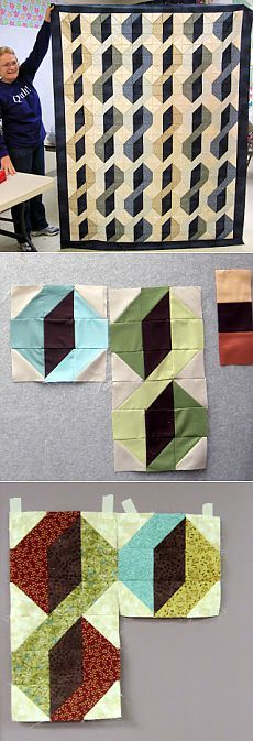 Jean's Quilting Page: Drum roll please: Snake Dance Mystery revealed!