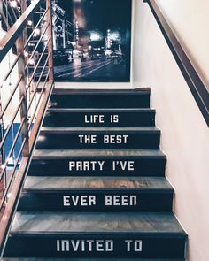 Life is the best party I've ever been invited to. Pretty Words, Beautiful Words, Cool Words, Michel De Montaigne, Cute Quotes, Words Quotes, Happy Words, Happy Vibes, Happy Thoughts