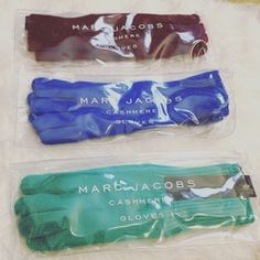 Marc Jacobs 100% Cashmere Gloves UNISEX Brand new with tags. Authentic Marc Jacobs 100% Cashmere Gloves UNISEX. Warm, Cozy and Comfortable. Available in three different colors - Brick/Maroon, Blue and Teal. One Size. Perfect for Coming Winter! 👍⛄️❄️ Orig Price $98 Marc Jacobs Accessories Gloves & Mittens
