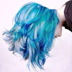 Love this hair! So beautiful! #hairdye #coolhair #instafashion #haircolour #hairstyle