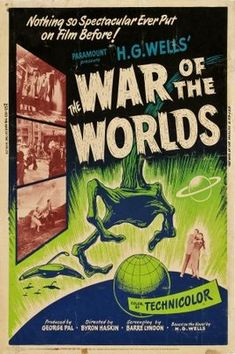 The War of the Worlds (1953) movie #poster, #tshirt, #mousepad, #movieposters2