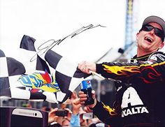 cool AUTOGRAPHED 2014 Jeff Gordon #24 Axalta Racing Team BRICKYARD WIN (Indianapolis) Checkered Flag 9X11 Signed Picture NASCAR Glossy Photo with COA