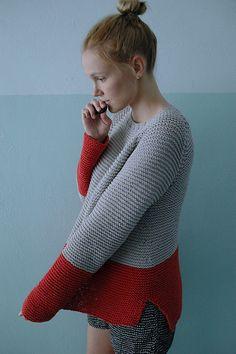 Ravelry: garmenthouse's Plowline Raglan Garter Sweater