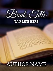 Softly Lit Book - Customizable Book Cover  SelfPubBookCovers: One-of-a-kind premade book covers where Authors can instantly customize and download their covers, and where Artists can post a cover and name their own price.