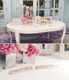 パーティの受付をHAPPYに演出する方法の画像   可愛い結婚式を自分でつくろう