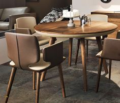 round small dining table small round dining table ideas tcuubwl - Home Decor Ideas Small Round Kitchen Table, Round Dining Table Sets, Small Dining, Dining Table Chairs, Dining Furniture, Small Dinner Table, Fine Furniture, Contemporary Furniture, Furniture Design