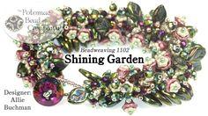 Seed bead jewelry Shining Garden Bracelet ~ Seed Bead Tutorials Discovred by : Linda Linebaugh Beading Projects, Beading Tutorials, Beading Patterns, Diy Projects, Seed Bead Jewelry, Seed Beads, Beaded Jewelry, Beaded Necklace, Jewellery