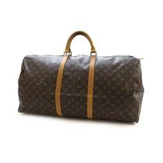 Louis Vuitton Brown Travel Bag